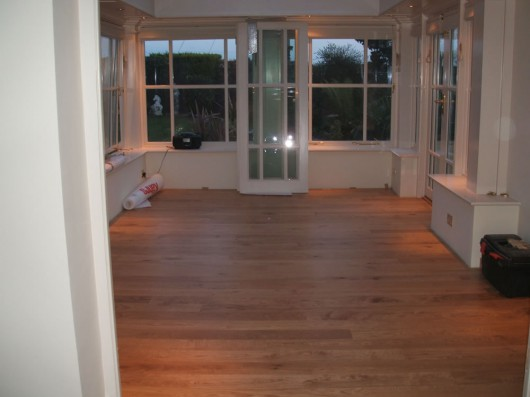 THE CHALLENGE OF FINISHING A WOOD FLOOR AFTER INSTALLATION – PART 1